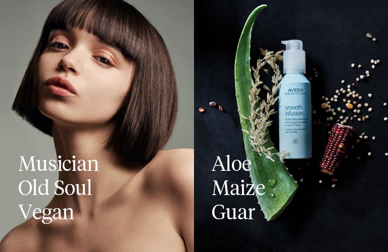 aveda smooth infusion style prep smoother how to use